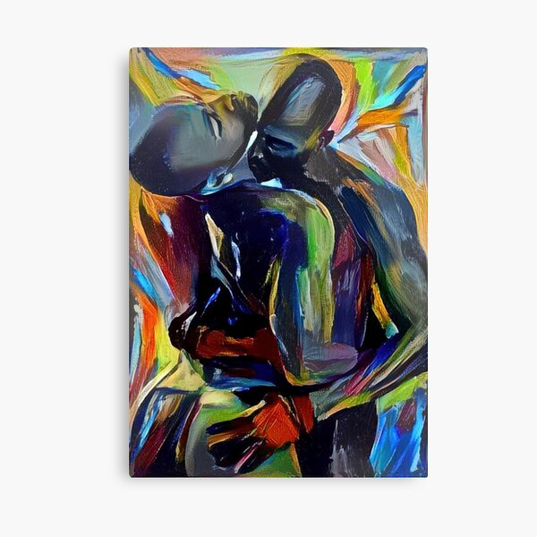 The Euphoria of His Touch Canvas Print