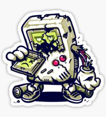 ZomBoy Attacks Sticker