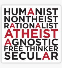 Humanist Sticker