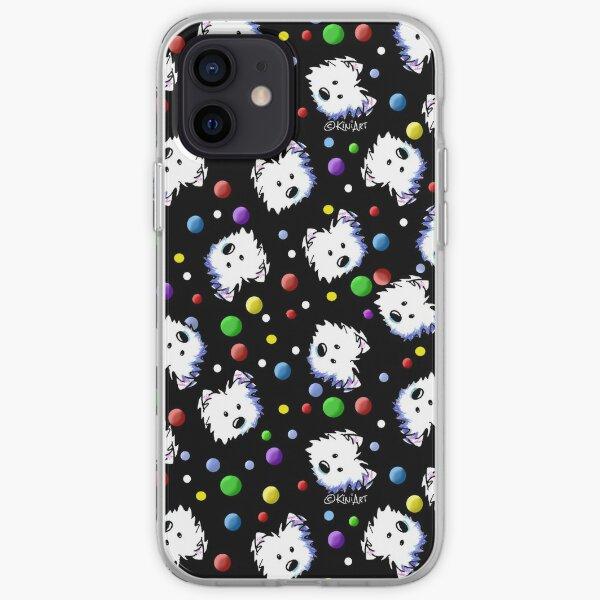 KiniArt Westie Confetti iPhone Soft Case