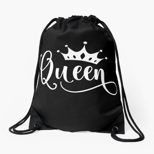Königin Krone Tiara Design Turnbeutel