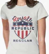 Vintage Royale Republic Gasoline Womens Fitted T-Shirt