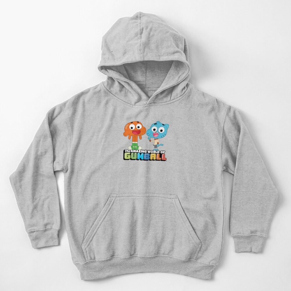 Gumball and Darwin Greet the fans Kids Pullover Hoodie