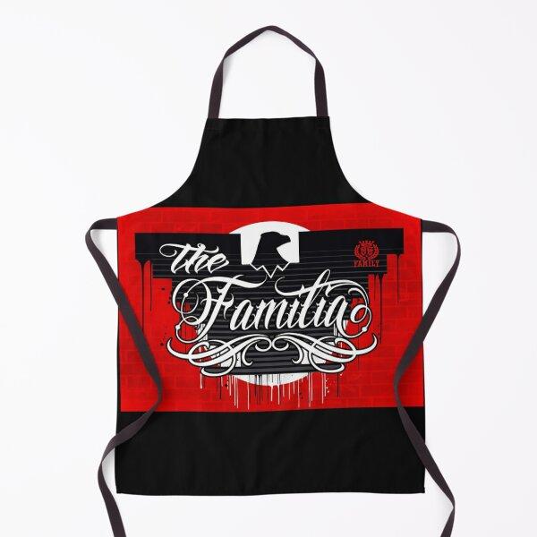 The OG Family Clothing- The Familia Huelga Bird Flag Design Apron