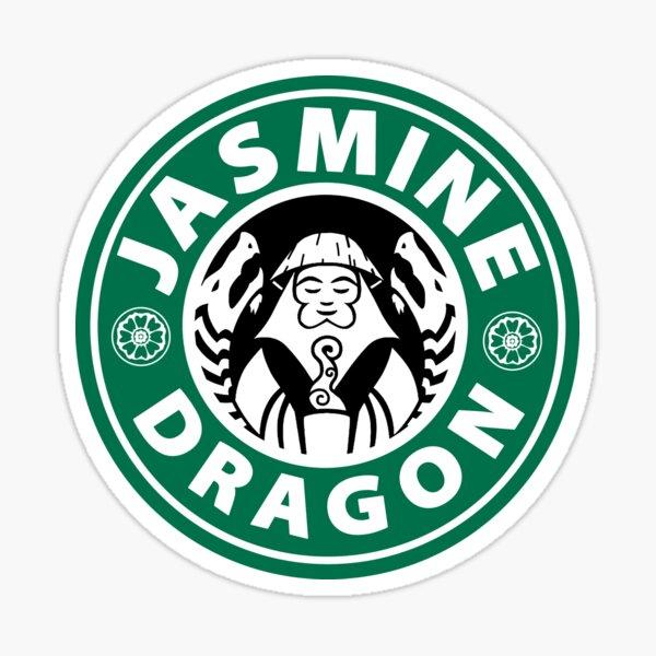 the jasmine dragon Sticker