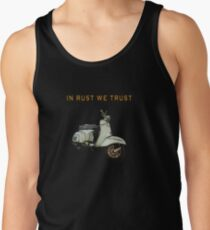 Vintage Vespa from italy Tank Top