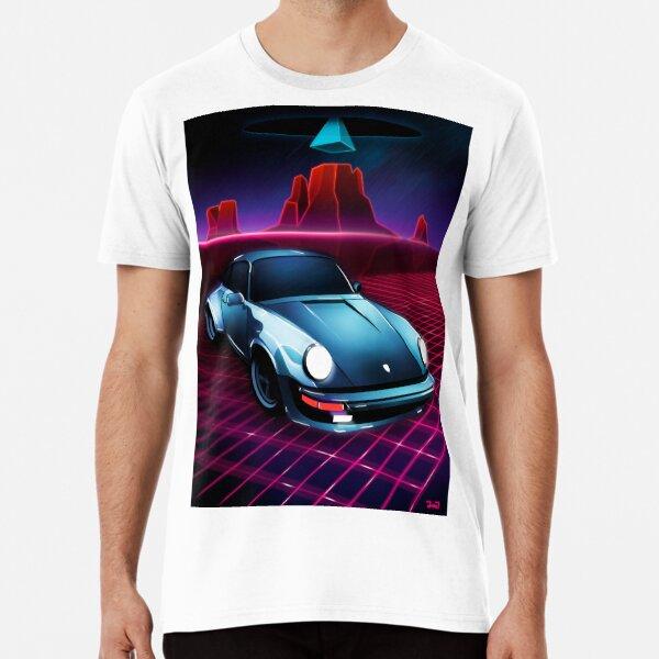 Porsche 911 - Neon Mesa Desert Premium T-Shirt