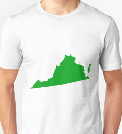Virginia in Green T-Shirt