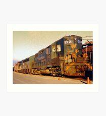 Locomotive Art Print