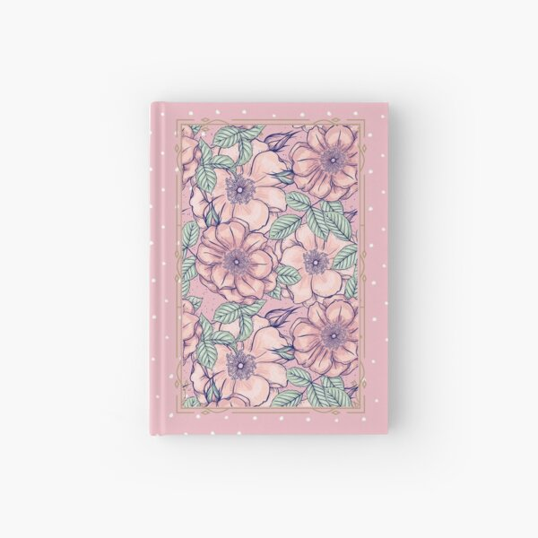 Floral Dream Fairy Diary (Pink) Hardcover Journal