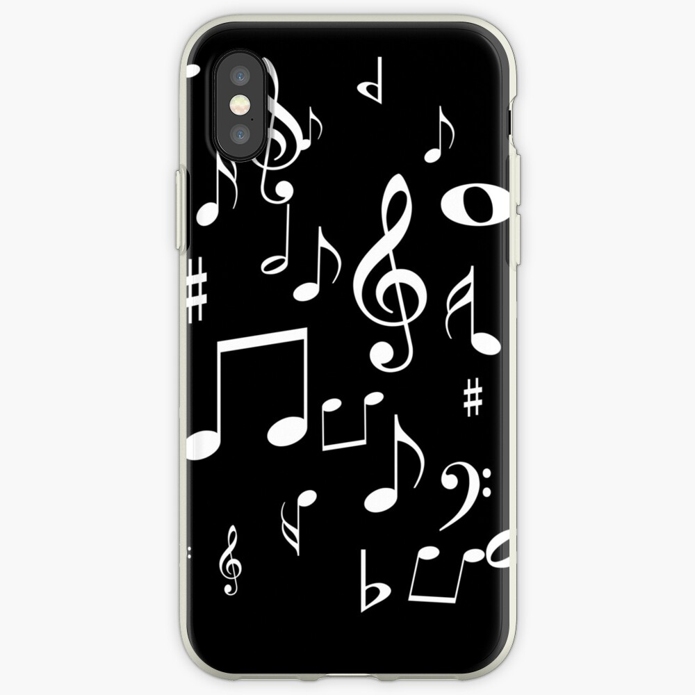 Music notes iPhone Case & Cover