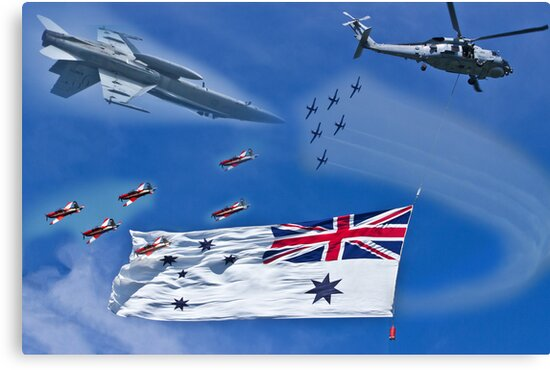 Aircraft from Sydney Navy Review by miroslava