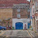 Off Aberdeen Walk, Scarborough Yorkshire, England by Glen Allen