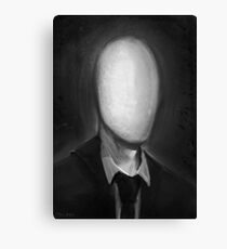 Slender Portrait Canvas Print