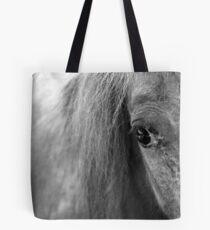 A Horse's Eye Tote Bag