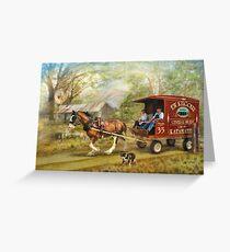 Rural Deliveries  Greeting Card