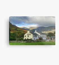 The Wasdale Head Hotel and Inn Metal Print