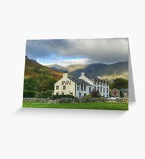 The Wasdale Head Hotel and Inn Greeting Card