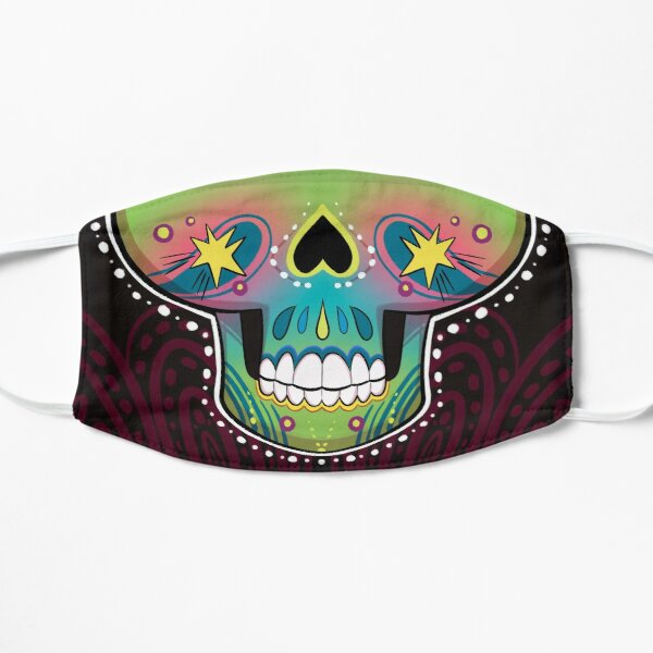 Sugar Skull Pop Face Mask  Mask