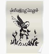 CS:GO - Defusing Angel Poster