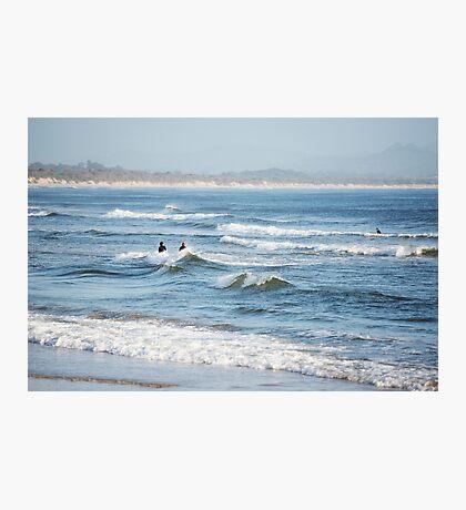 Byron Surfers  Photographic Print
