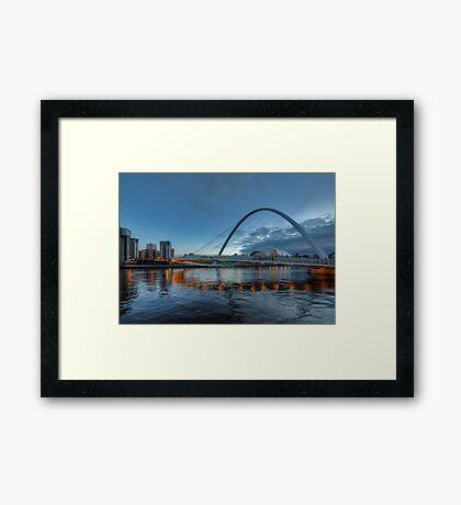 Millennium Bridge Newcastle Framed Print