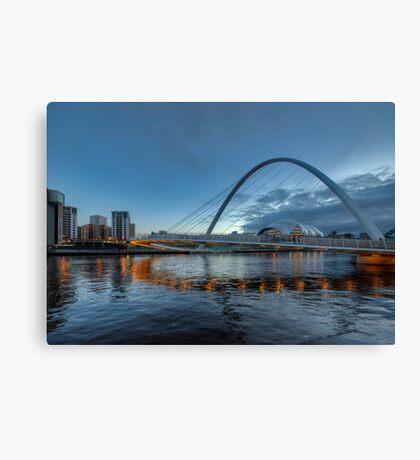Millennium Bridge Newcastle Canvas Print