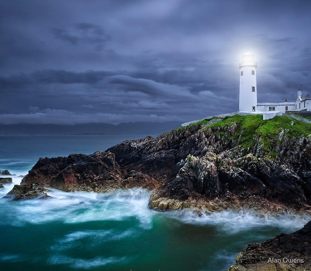 Fanad Head Lighthouse by Alan Owens