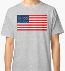Flag of the United States of America Classic T-Shirt