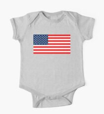Flag of the United States of America One Piece - Short Sleeve