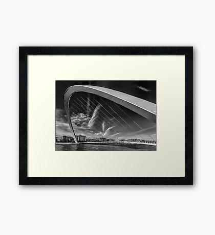 Newcastle Cityscape Framed Print