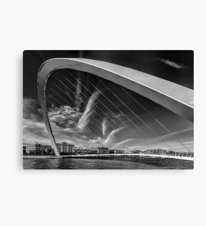 Newcastle Cityscape Canvas Print