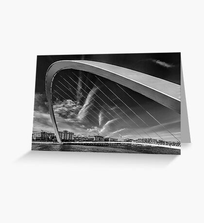 Newcastle Cityscape Greeting Card