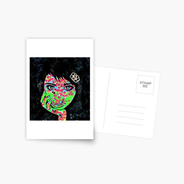 PaperMonster Inkblot Postcard