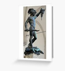 Perseus Greeting Card