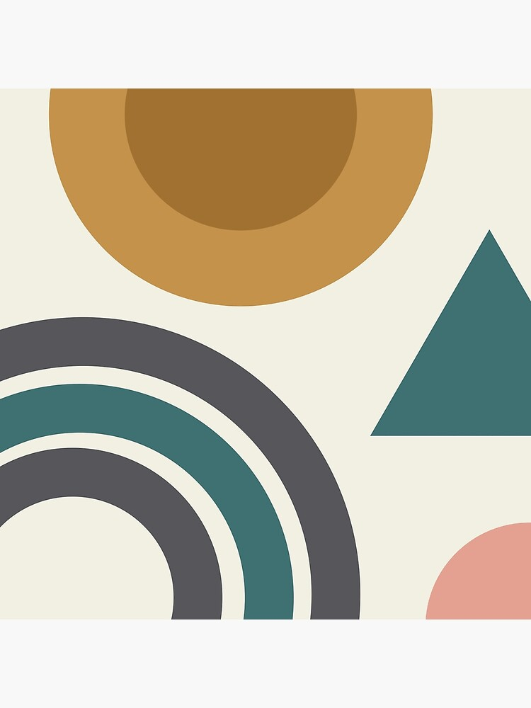 Abstract Geometric Shapes by dickybow