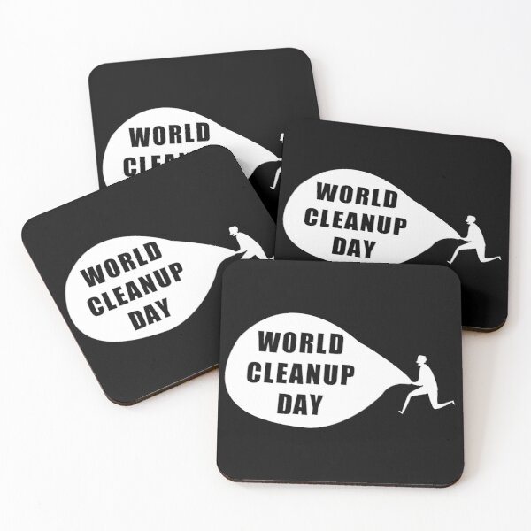 national cleanup day Coasters (Set of 4)