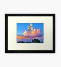 Buddha of Suburbia Framed Print