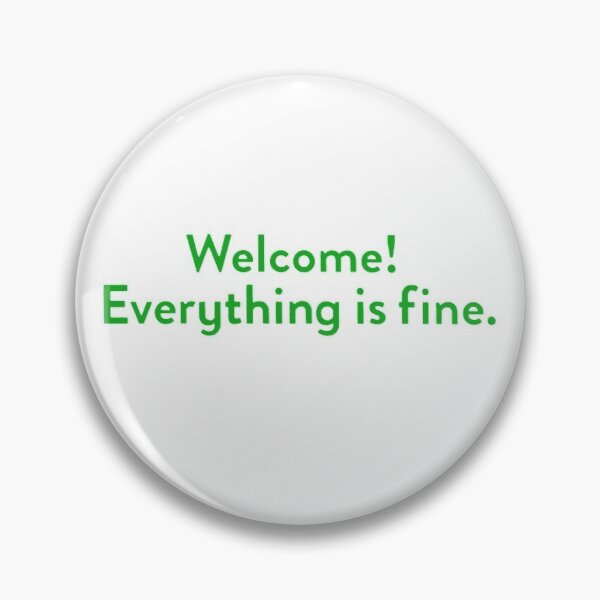 The Good Place Welcome Wall Pin