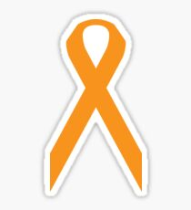 Leukemia Awareness ribbon Sticker