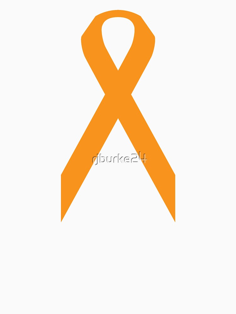 Leukemia Awareness Ribbon Womens Relaxed Fit T Shirt By Rjburke24