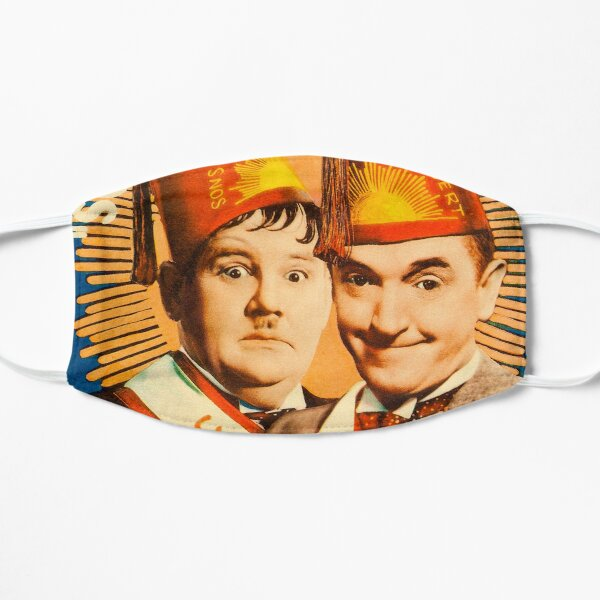 Laurel and Hardy - Sons of the Desert Poster Artwork (1933) Mask