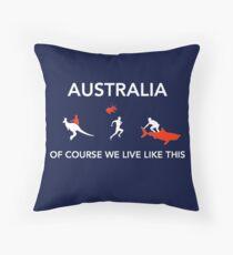 AUS  Throw Pillow