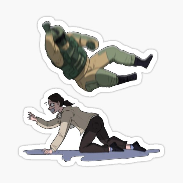 Funny tachanka lord game art Sticker