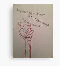 Lost hearts Canvas Print