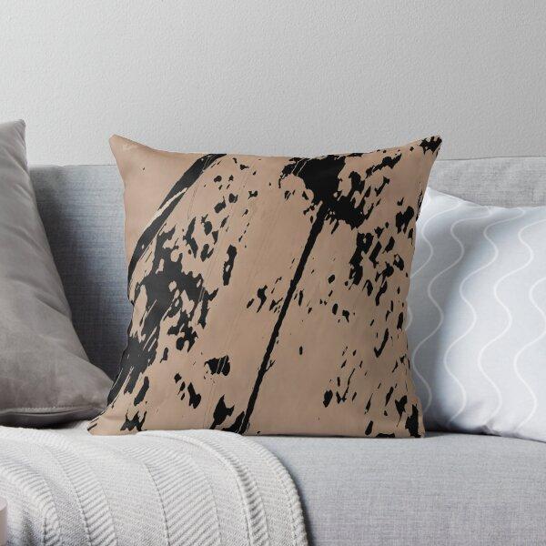 Multicolored unique everlasting pattern, decorative,  random colorful geometric design Throw Pillow