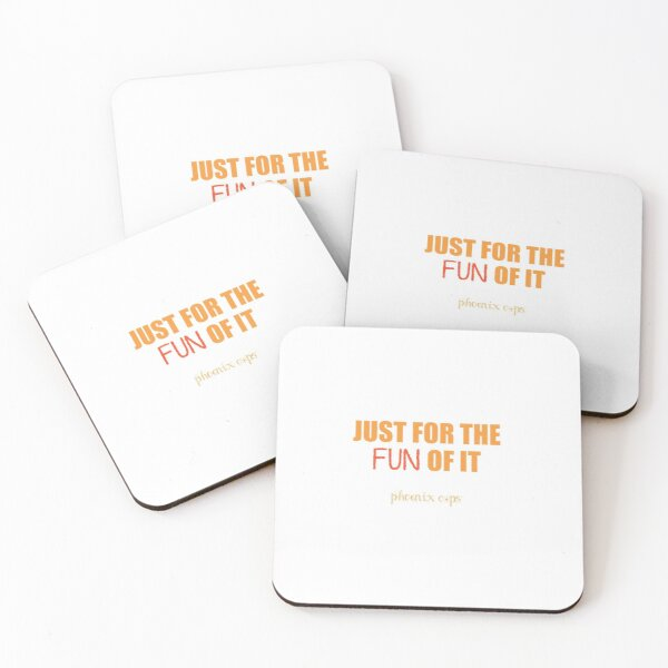 Fun Cup Quote Coasters (Set of 4)