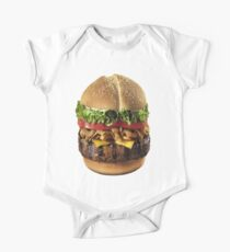 Burger Short Sleeve Baby One-Piece