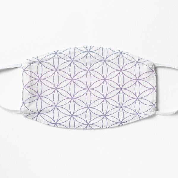 Flower of Life Geometric Circles Grid (Light Purple) Mask
