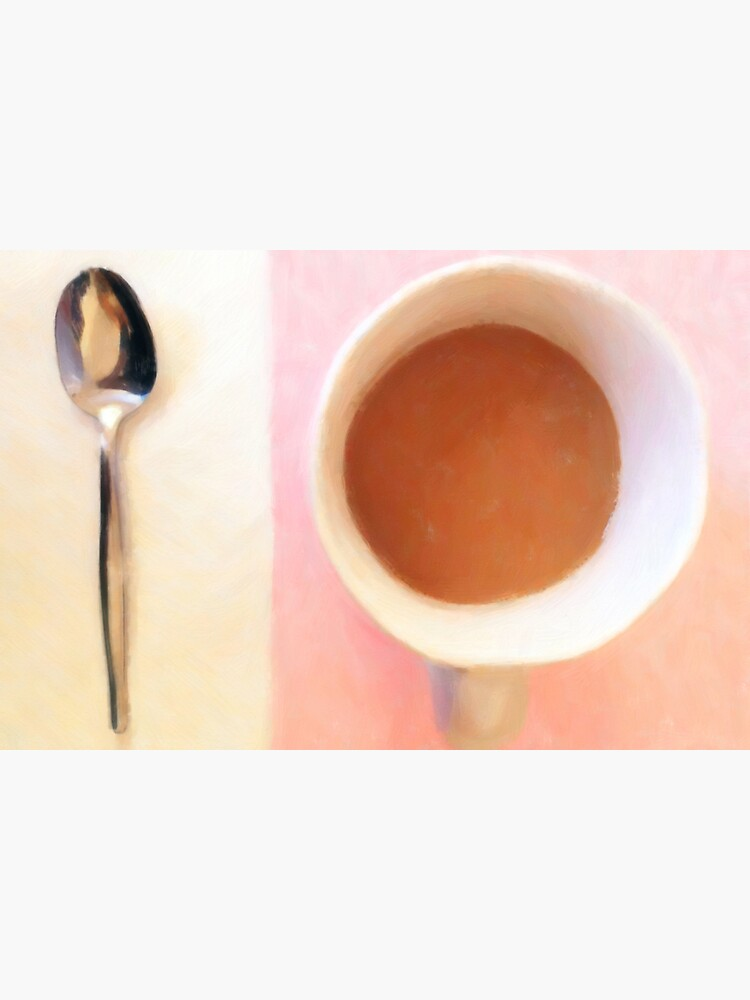 Coffee with spoon by StackingStones